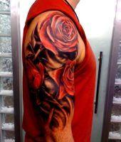 tatuaże róże 73552