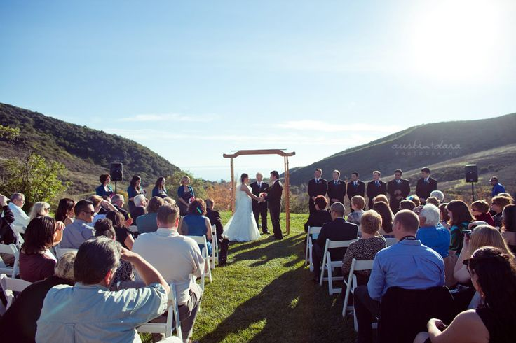 Wedding Ceremony At El Capitan Canyon Santa Barbara Weddings Pinterest Venues And