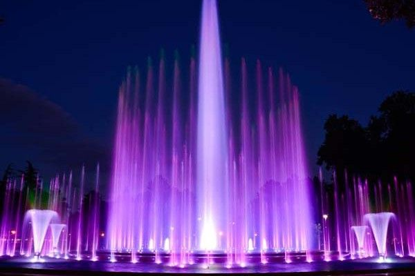 New pieces in the repertoire of the musical fountain on Margaret Island