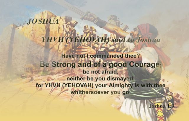 """Easy understanding of the Holy Bible.: """"Joshua/Jehoshua"""""""