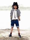 Rolled Jeans, Skinny Tie, Fedora, and LONG Hair...Not For All Boys, But What a Look!