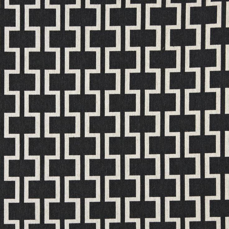 Upholstery Fabric K2207 Black tile Damask/Jacquard,Linen/Silk Looks,Auto/RV