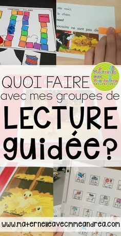 What my guided reading block looks like - Maternelle avec Mme Andrea