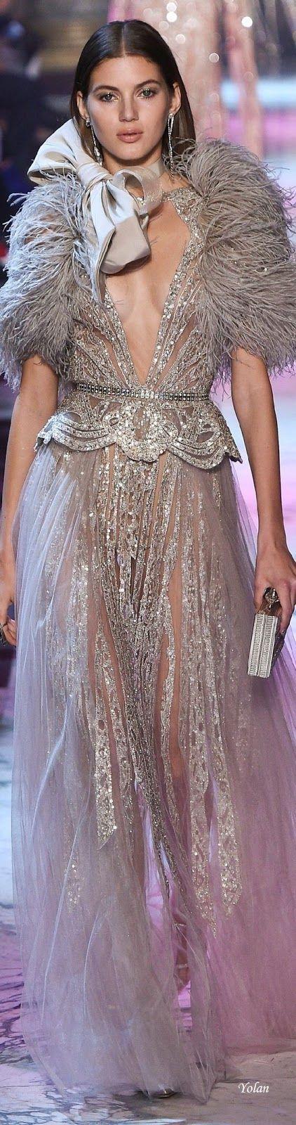 Sueños compartidos : Spring 2018 Haute Couture Elie Saab
