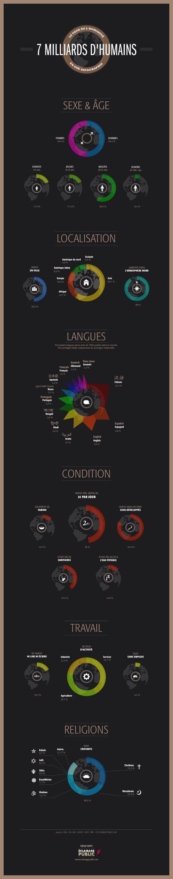 29 inspirations et ressources pour réaliser des infographies originales | Blog du Webdesign