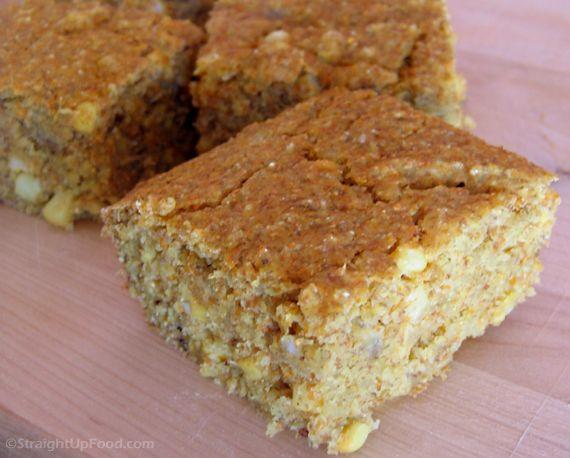 quinoa cornbread #vegan: Fun Recipe, Eggs, Butter, Bananas, Food, Breads, Quinoa Cornbread, Cornbread Recipe, Quinoacornbread