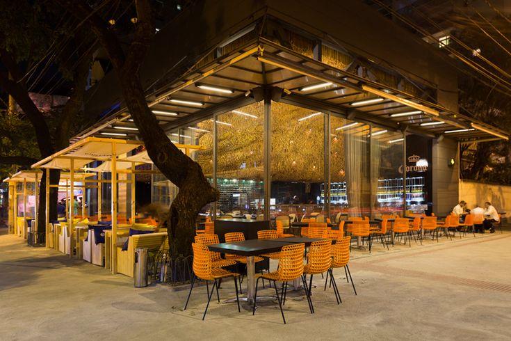arquitetos associados olga nur restaurant interiors belo horizonte brazil designboom