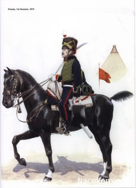 The King's German Legion (2) - 1812-1816 1st Hussars 1815