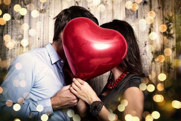 Kobieta, Mężczyzna, Serce, Walentynki