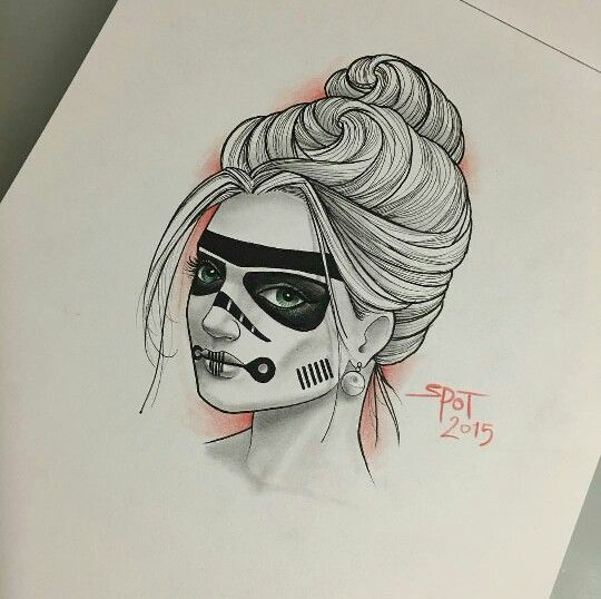Female stormtrooper