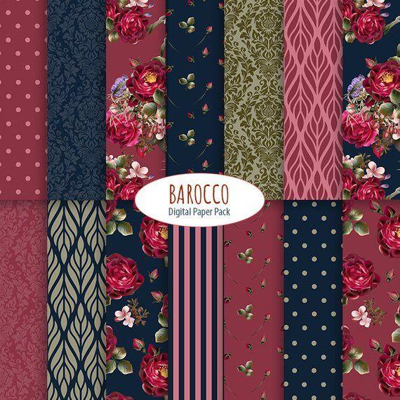 Vintage Candy Stripe Patchwork Rosa Tela De Algodón//Crafts