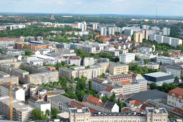 Ein Wochenende in Leipzig | waseigenes.com | Blick vom Uniriesen | Völkerschlachtdenkmal