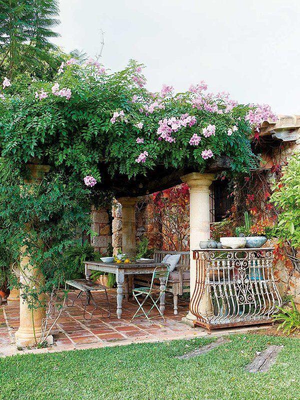 Una idílica casa de campo