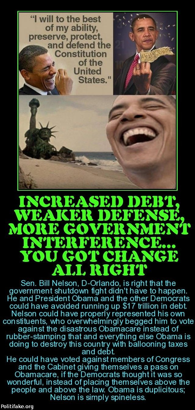 ,obama - change for the worse