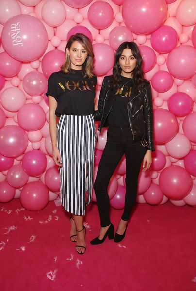 Jessica Gomes Photos - Jesinta Campbell and Jessica Gomes arrive ahead of the JT…
