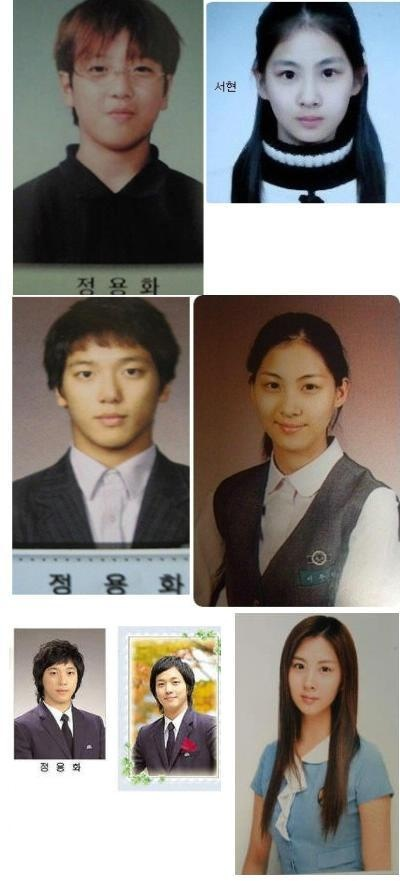 Seohyun looks so pure and natural beauty while Yonghwa from nerd to Handsome man xD kyaaa!~