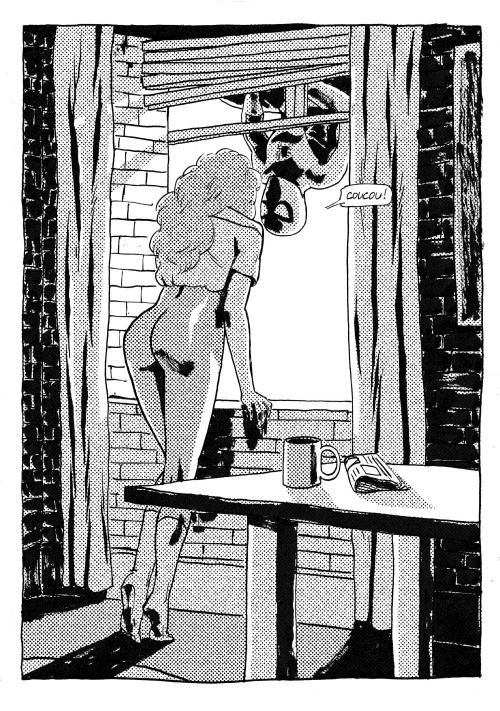 #remi bastie #mary jane watson #spiderman #illustration #comics #coucou