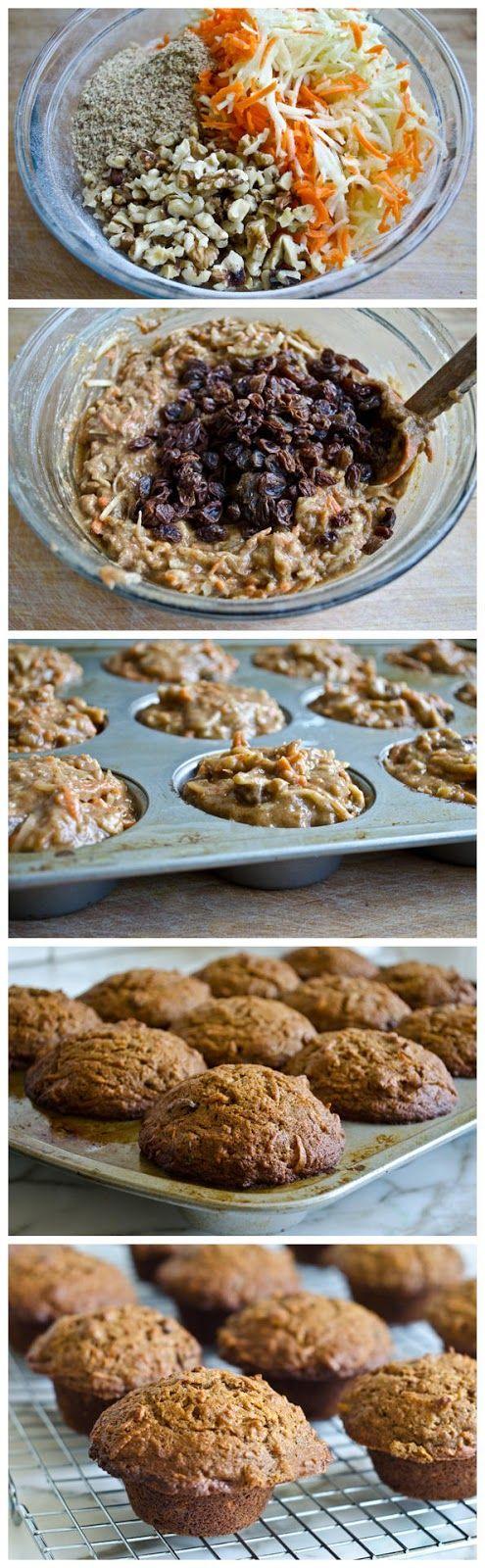 Start Recipes: Morning Glory Muffins