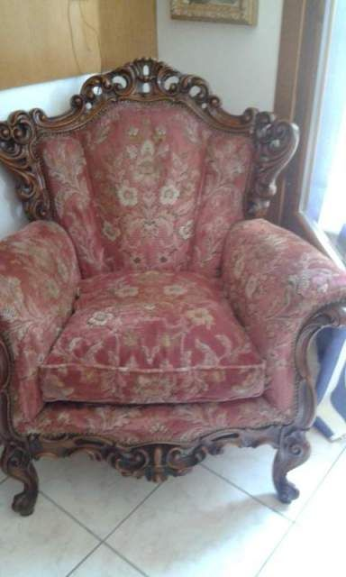 Antico divano barocco 5