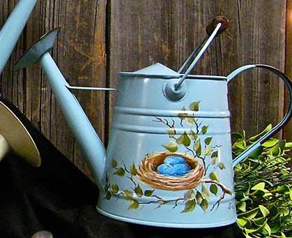 42dc1701a1a0a5b100cba2f1994fff05--pintura-country-bird-nests Painted Bird House Watering Can Shape Designs on soda can bird house, clay pot bird house, beehive bird house, flower pot bird house, terra cotta pot bird house,