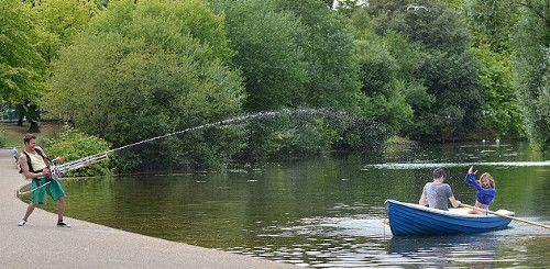 Het ultieme watergevecht met dit waterpistool