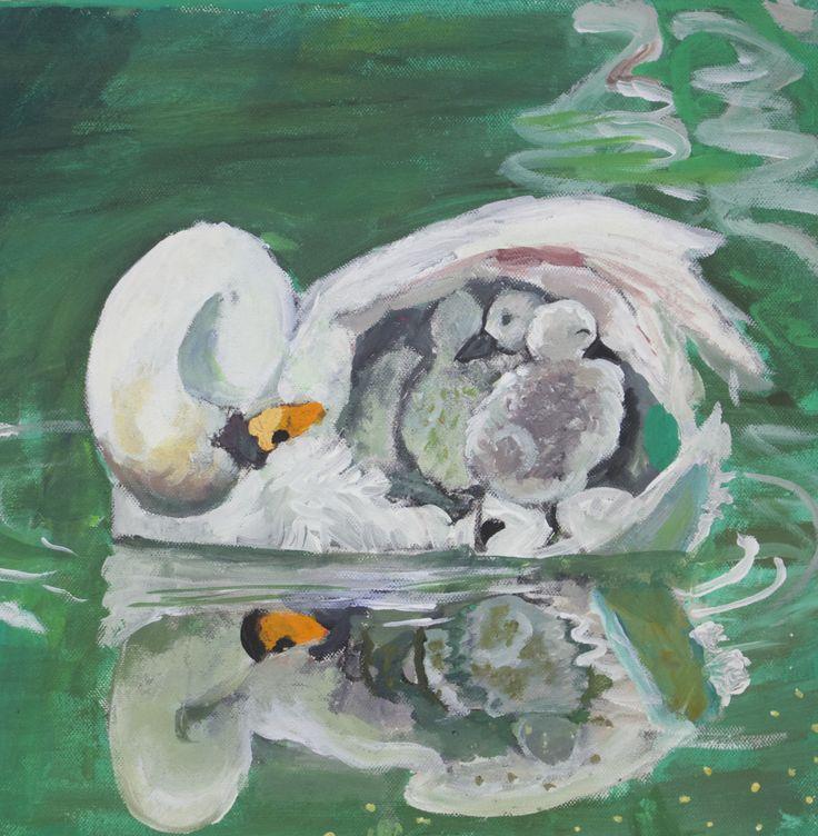 Yesenia Rosales 'Protección maternal' #jovenesartistasjerezdeloscaballeros #arte #jerezdeloscaballeros