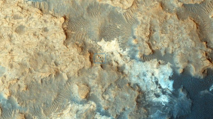 Curiosity Mars Rover at Pahrump Hills  , - ,   Curiosity Mars r...