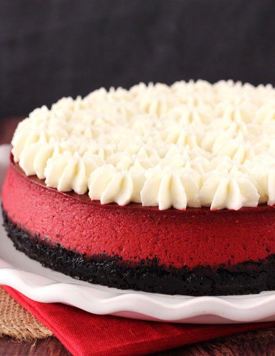 """Как приготовить очень вкусный торт: чизкейк """"Красный бархат"""""""