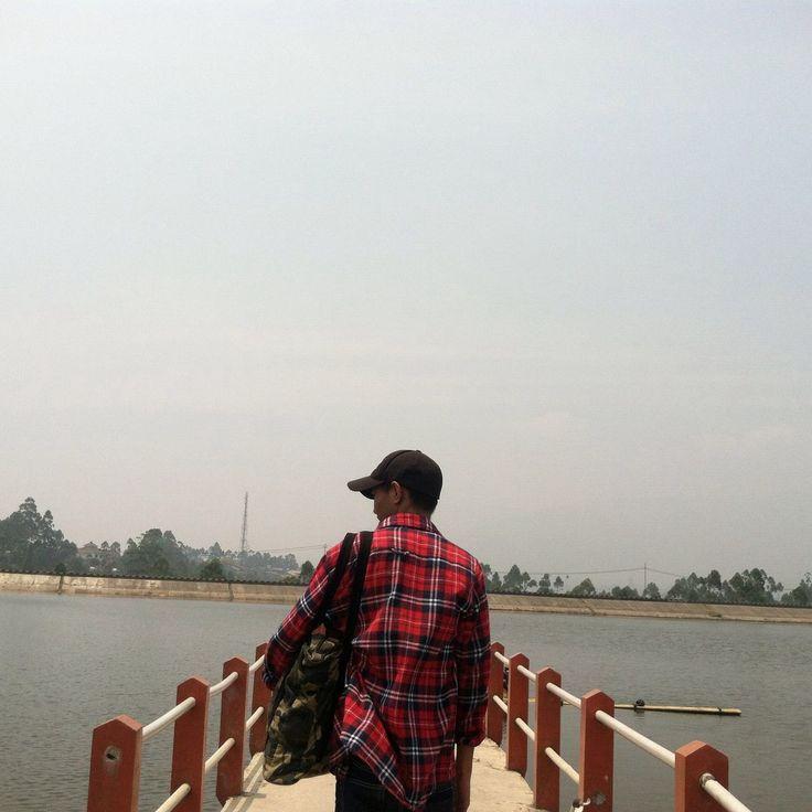 Cileunca Lake Pangalengan Bandung, Indonesia