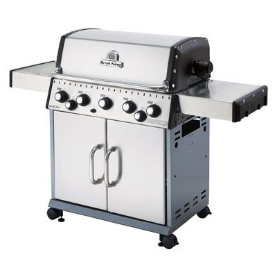 Broil King Baron™ 590 S 5-Burner (50,000 BTU) Natural Gas Grill with Side and Rotisserie Burners