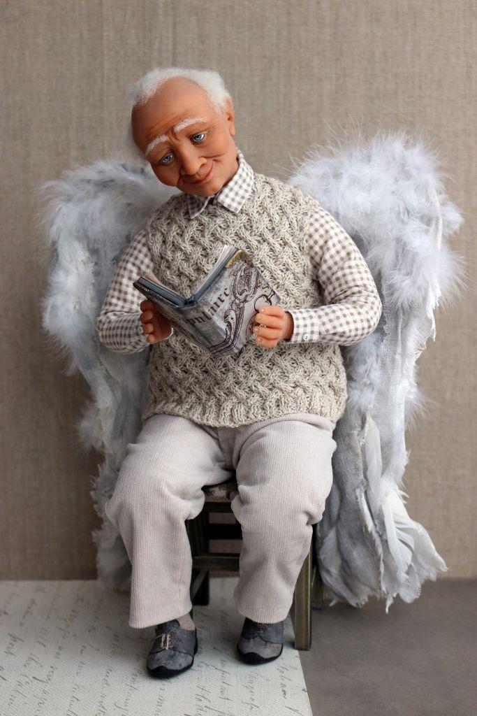 """Любимая книга"" • Dolls Collection by Evgenia Egorova on Kolektado"