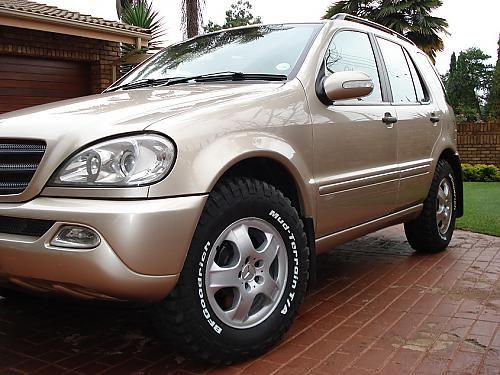 Mercedes ml w163 265 70 17 tires mercedes ml w163 for Mercedes benz ml320 tires