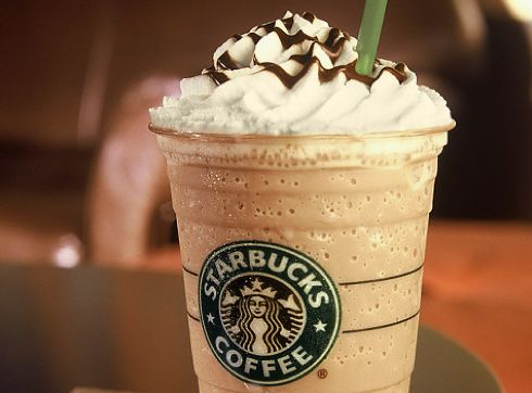 Caramel Frappes are awesome in cold weather...Don't ask me why...Don't know? :p