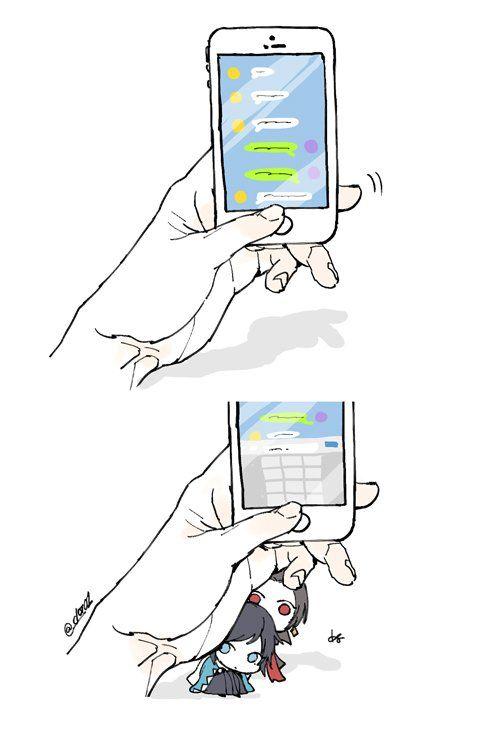 【刀剣乱舞】下から覗いてくる沖田組 ※デフォルメ化注意【とある審神者】 : とうらぶ速報~刀剣乱舞まとめブログ~