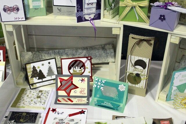 Markt Advent und Weihnachten Aigenmade.com Stampin'UP
