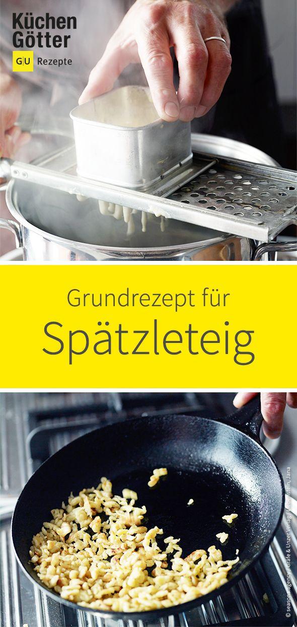Recette de base Pâte Spaetzle   – Grundrezepte
