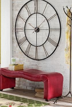 Grace any wall with the sleek and stylish Postema Gallery Wall Clock that makes quite the statement in your home.