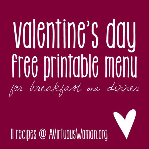 valentine's day menu worcester