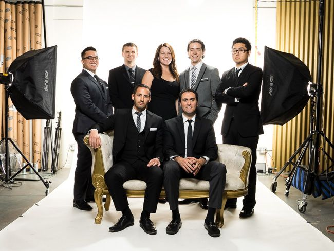 Clean & Modern Corporate Studio Shoot - How We Shot It