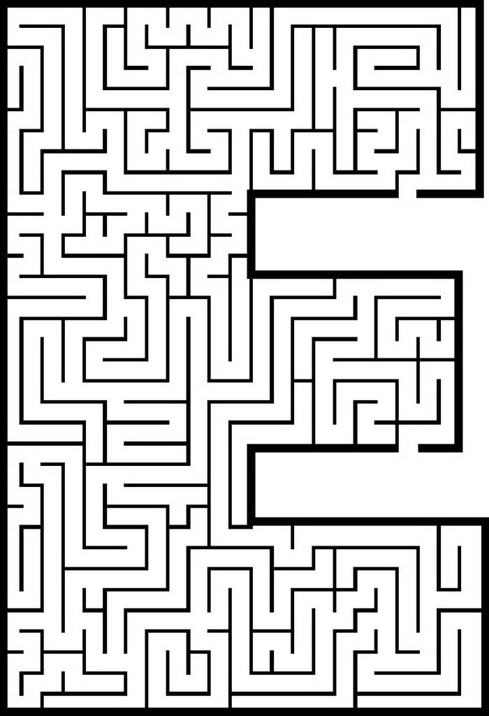 letter mazes..plus other puzzles and coulouring sheets