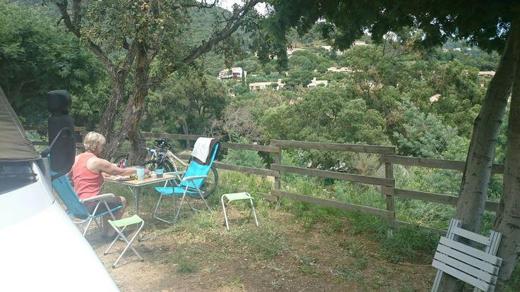Camping Pramousquier, near Le Lavandou South France