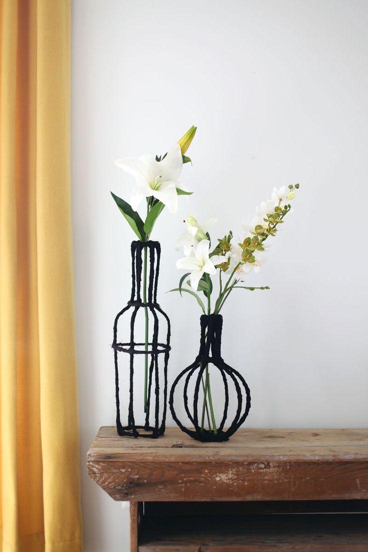 Decorative Wire Vase DIY