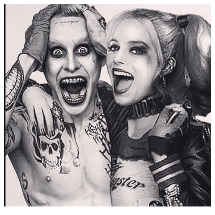 Crazy stupid love (Harley Quinn and The Joker)