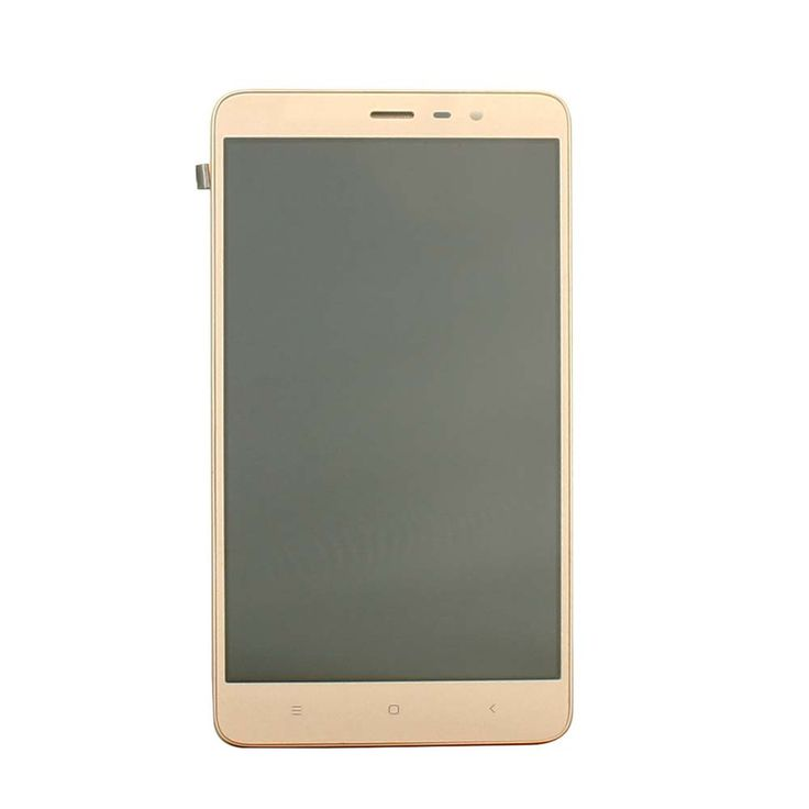 For Xiaomi Hongmi Redmi Note 3 Black/White/Gold Tested LCD Display + Touch Screen Digitizer Assembly With Frame Panel Glass Lens