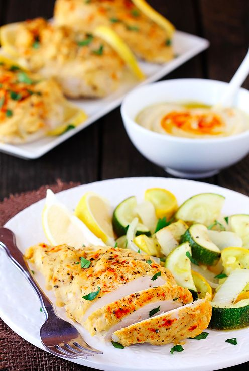 Hummus-Crusted Chicken | 23 Boneless Chicken Breast Recipes That Are Actually Delicious