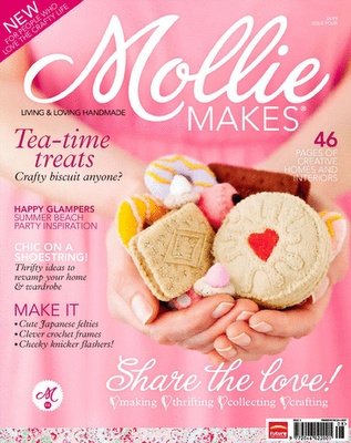 Mollie Makes - www.molliemakes.com    #molliemakes #magazine #futurepublishing #creative #craft #bathjobs #londonjobs