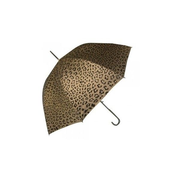 Animal Leopard Print Metallic Stick Umbrella In Gold Or Silver and other apparel, accessories and trends. Browse and shop 2 related looks.
