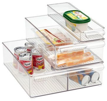 Fridge Binz - modern - cabinet and drawer organizers - - by The Container Store