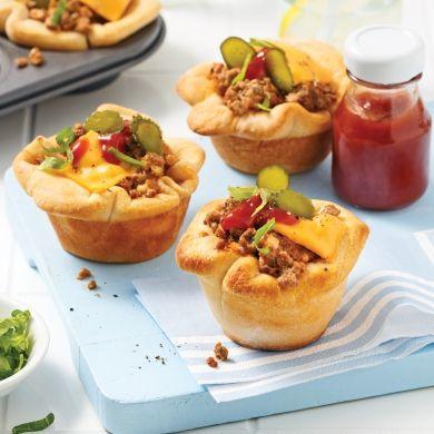 Mini-pâtés façon burger - Recettes - Cuisine et nutrition - Pratico Pratique