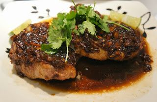 Seared Pork Chops with Adobo Sauce Reduction by Katherine de Leon | Project : Adobo